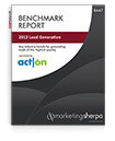 Product image for the MarketingSherpa Lead Generation Benchmark Report