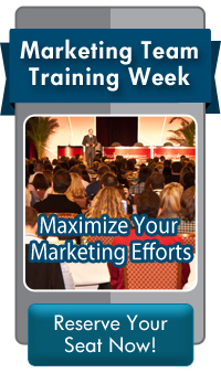 Marketing Team Training Week Register