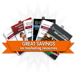 Specials and Deals on Marketing Resources